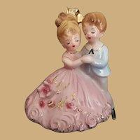 Early Vintage Signed Josef Original California Anniversary Waltz Figurine