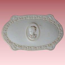 Vintage Luxor French Ivory Powder Box