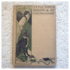 """Rare Hardbound Book for Children - """"Little Tong's Mission"""""""