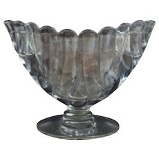 Very Rare Duncan and Miller Crystal Combined Vase and Candleholders