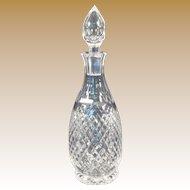 Vintage Stuart Cut Crystal Decanter - Hardwicke Pattern