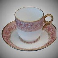 Vintage Haviland Limoges Demitasse Cup & Saucer Set