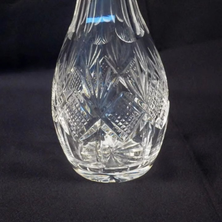 Vintage Waterford Cut Crystal Pineapple Cut Decanter Blomstrom