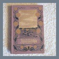 "Vintage Hardbound Book ""The Song of Hiawatha"""