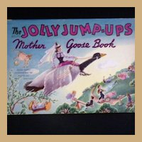 "Vintage Book - ""The Jolly Jump-Ups Mother Goose Book"""