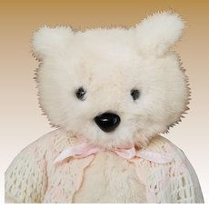 Vintage Mink Teddy Bear