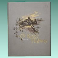 "Vintage Hardbound Book - ""The King's Highway"""