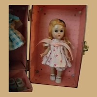 Vintage Ginny Doll with Carrying Case and Wardrobe