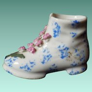 Vintage Hand Painted Elfinware Boot