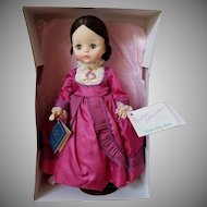 Vintage Madame Alexander Louisa May Alcott Doll