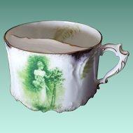 Rare Vintage Rosenthal Porcelain Mustache Cup