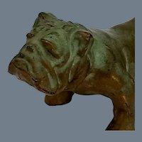 Vintage Signed McClelland Barclay Bronze Bulldog