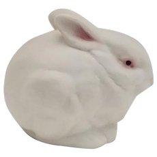 Vintage Cybis White Bisque Porcelain Bunny Rabbit Figurine