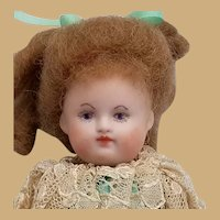 Vintage Handpainted Artisan Bisque Doll