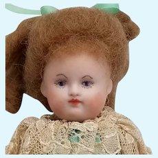 Vintage Handpainted Artisan Bisque Doll