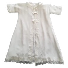 Vintage Infant, Baby or Doll Gown