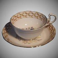 Scarce Vintage Royal Albert Cup & Saucer