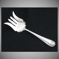 Rare Vintage Signed Watson Sterling Silver Chipped Beef Fork