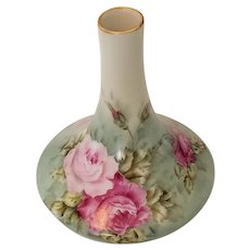 Lovely Vintage Handpainted and Artist Signed Vase