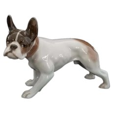 Vintage Rosenthal Diller Design French Bulldog Figurine