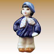 Vintage Signed Little French Boy or Artist Figurine by Ceramic Arts Studio