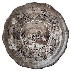 Antique Transferware Bowl