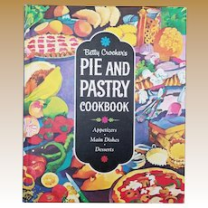 "Vintage Stated First Edition Hard Cover ""Pie and Pastry Cookbook"""
