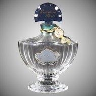 Vintage Small Shalimar Perfume Glass Bottle