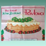 Vintage Linen Recipe Kitchen Towel