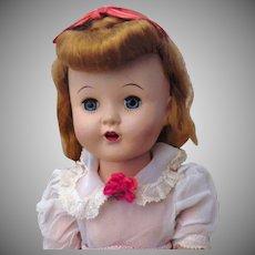 """Hard to Find Vintage Hard Plastic Horsman 16"""" Cindy Doll"""