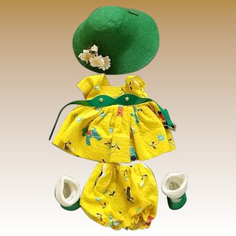 Vintage Tagged Ginny Doll Clothes Set