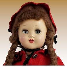 Vintage Signed Horsman Hard Plastic Doll