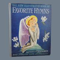 """Vintage First Edition Hardbound Book - """"Favorite Hymns"""""""