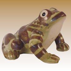 Vintage Ceramic Frog Figurine
