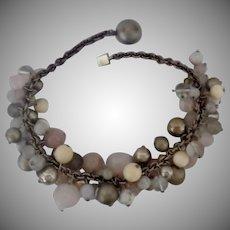 Vintage Signed Sterling Silver Necklace