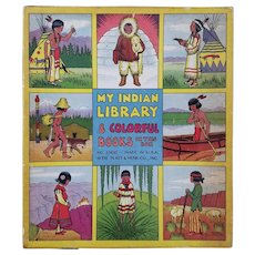 Vintage Boxed Set of Books - My Indian Library