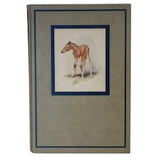 """Vintage Book - """"The Red Pony"""" by John Steinbeck - First Illustrated Edition 1945"""