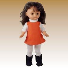 """Vintage """"Bella"""" Brevete Doll Made in France"""