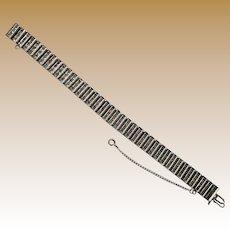 Vintage Signed Catamore Sterling Silver Bracelet