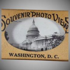 Vintage Souvenir Photo Views of Washington D.C.