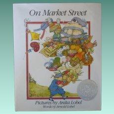 """Vintage Children's Book First Edition - """"On Market Street"""""""