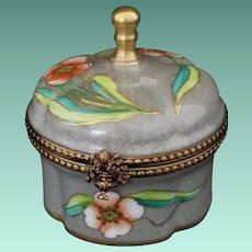 Vintage Signed Limoges Decorative Box