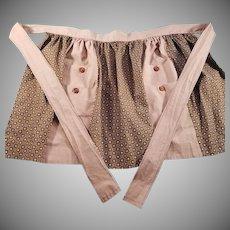 Vintage Half Apron with Pockets