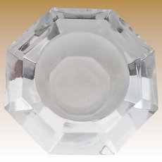 Vintage Cut Crystal Open Salt