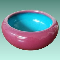 Rare California Faience Pottery Bowl