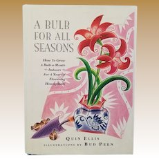 "Vintage Non-Fiction Hardbound Book - ""A Bulb for All Seasons"""