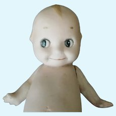 Vintage Stone Bisque Kewpie Doll As Found