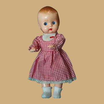 Vintage Side-Glancing Irwin Plastic Doll
