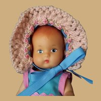 Vintage Effanbee Baby Tinyette Doll