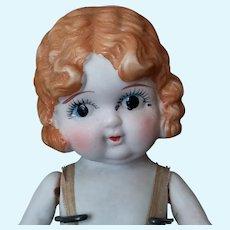 Vintage Stone Bisque Kewpie Doll